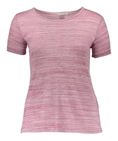 Pink Button-Back Top - Plus