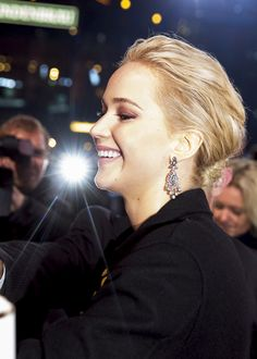 | Jennifer Lawrence at the premiere of 'The Hunger Games Mockingjay part.2' in Berlin, 2015 |