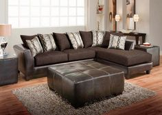 Our Bronze Collection Delivers Contemporary Style In Two Tone Combination Of Chenille And Faux Leather