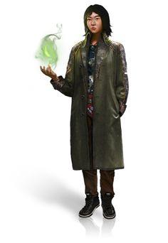 Kim Dawson. Melter. Kim has the ability create acid gas which she controls entirely.