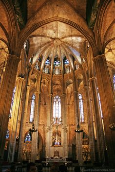 Apse of the La Seu Cathedral, Barcelona