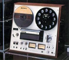Sony reel to reel tape-recorder TC-378