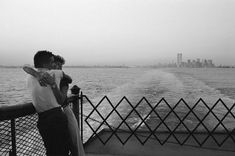 "Ferry to Staten Island, New York City (by Raymond Depardon, 1981)  ""I think photography was inside me. Once I found it, it became stronger than me and I took refuge in it."" – Raymond Depardon"