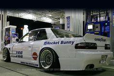 Rocket Bunny Nissan Silvia 1989-93 Full Rocket Bunny Silvia (PS13) F,S | EXOTICSPEED INC.