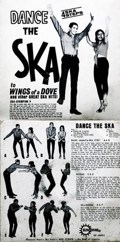 """Dance the Ska! 4 Ska steps to choose from. Ska Punk, Ska Music, Reggae Music, Skinhead Reggae, Skinhead Fashion, Rude Boy, Northern Soul, World Music, Motown"