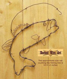 Bass ~ Rodeo Wall Hanging Decor