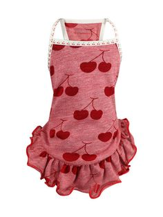 RED CHERRY DRESS by Hip Doggie at Gilt