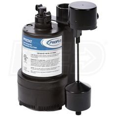 WATER SUMP PUMP 1//3 HP THERMOPLASTIC SUBMERSIBLE FLOOD DRAIN BASEMENT POOL TV