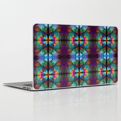 florescence Laptop & iPad Skin by floracyclam Laptop Skin, Ipad, Clock, Throw Pillows, Mugs, Watch, Cushions, Cups, Tumbler