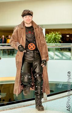 Gambit captured at Toronto ComiCon 2013 by andreas_schneider, via Flickr