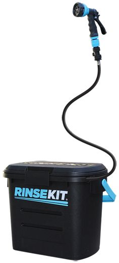 RinseKit | Pressurized Portable Shower System