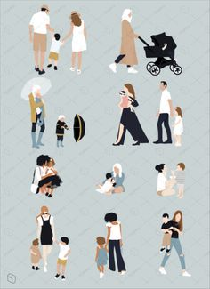 Toffu | Common Pack  Family  Sven Sven Architecture People, Architecture Panel, Cultural Architecture, Architecture Graphics, Architecture Drawings, Architecture Portfolio, Architecture Diagrams, Architecture Design, People Png