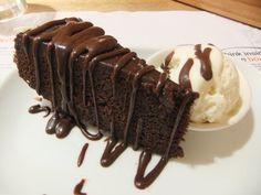 wasabi chocolate cake @ Wagamama