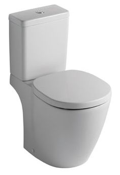 Ideal Standard Concept Cube Close Coupled Toilet WC - Ideal Standard available at Plumbworld Close Coupled Toilets, Ideal Standard, Loft Bathroom, Cube, Luxury, Concept, Design, Inspiration, Washroom