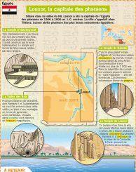 Louxor la capitale des pharaons