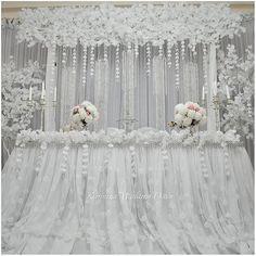 104 отметок «Нравится», 3 комментариев — WEDDING & EVENT DECORATOR (@karolinaweddingdecor) в Instagram: «Белоснежно-воздушный декор президиума. Сухум. Зал Геловани #свадьбавабхазии #свадьба #белаясвадьба…»