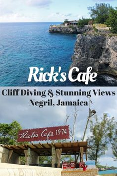Rick's Cafe in Negril Jamaica: Cliff Diving, Stunning Views, and Spectacular Sunsets!
