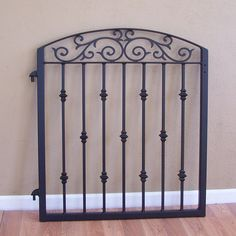 Ornamental Iron Garden Gate Metal Scroll Work Cast Iron