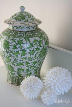 ginger jars | Ginger Jars and Roses