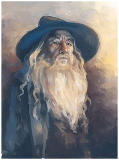 Gandalf is my most favorite wizard ever, and I want to include a wizard in my book that reminds me of him :)