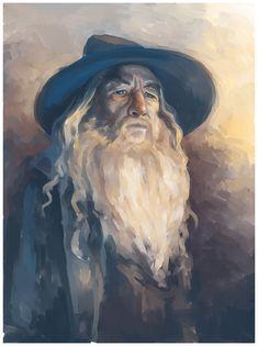Gandalf is my most favorite character from LOTR Gandalf, Legolas, Hobbit Art, O Hobbit, Lotr, Inktober, Jrr Tolkien, Dark Lord, Fan Art