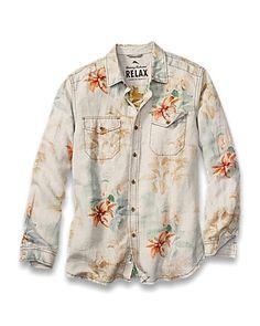Tommy Bahama - Island Modern Fit First Class Breezer Shirt