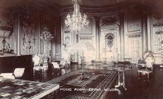 old r.p. postcard of the music room, Stowe House, Buckinghamshire | eBay