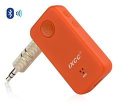iXCC Upgraded Wireless Bluetooth 4.0 Receiver with Male to Male 3.5mm Universal…