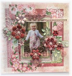 Nikki's Crafting Creations: Two Blog Candy Winners and an Inspirational Arianna Blooms Layout