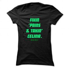 Fixin ... CELINA - Cool Name Shirt ! - #country hoodie #hooded sweatshirt. I WANT THIS => https://www.sunfrog.com/LifeStyle/Fixin-CELINA--Cool-Name-Shirt-.html?68278