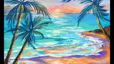 How to Paint Paradise Lost LIVE with Ginger Cook for the Beginner Acrylic Painting Artist - YouTube
