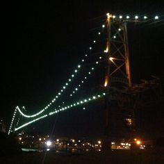 Florianopolis. Ponte Hercílio Luz