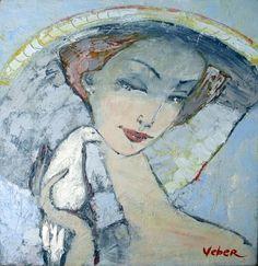 Portrait with a Bird (Oksana Veber)