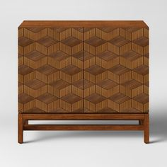 Tachuri Geometric Front 2 Door Cabinet Brown - Opalhouse™ - image 1 of 4 Boho Living Room, Bohemian Living, Living Room Decor, Dining Room, Bedroom Decor, Dining Table, Small Potted Plants, Target Home Decor, Living Room Furniture