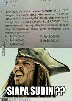 UN matematika.... uang kembalian... siapa Sudin?