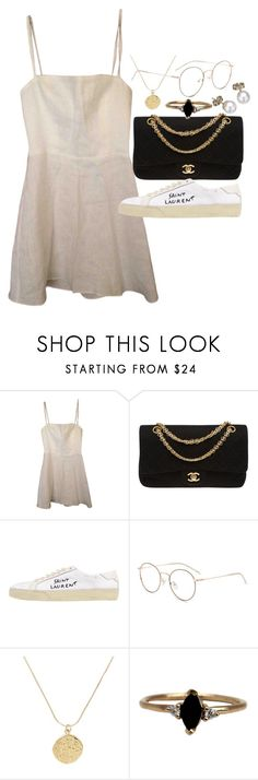 """""""Untitled #23266"""" by florencia95 ❤ liked on Polyvore featuring Chanel, Yves Saint Laurent, LUMO and London Road"""