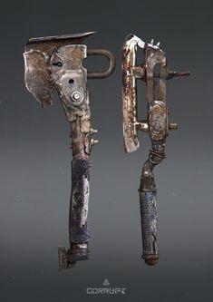 Оружие постапокалипсиса моё, арт, Игры, длиннопост, Оружие, рисунок, концепт, постапокалипсис