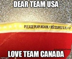 You'll only understand this if you're Canadian, are an Olympic hockey fan and have been to Tim Horton's Canadian Things, I Am Canadian, Canadian Girls, Canadian Humour, Canadian Protein, Canada Jokes, Canada Eh, Canada Funny, Meanwhile In Canada