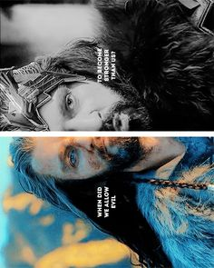 Thorin: when did we allow evil to become stronger than us? #thehobbit