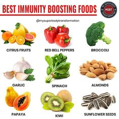 Immunity Boosting Foods Feeding your body certain foods may help keep your. Best Immunity Boosting Foods Feeding your body certain foods may help keep your.,Best Immunity Boosting Foods Feeding your body certain foods may help keep your. Healthy Tips, Healthy Habits, How To Stay Healthy, Healthy Eating, Food For Immune System, How To Boost Your Immune System, Immune System Boosters, Health And Nutrition, Natural Health