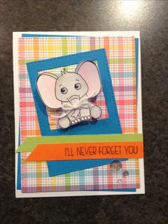 Simon Says Stamp April card kit - Wild and Colourful - by Cori Bailey