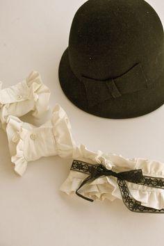 ~Ruffles And Stuff~: Chanel Inspired Ruffle Collar and Cuffs...boot cuffs??