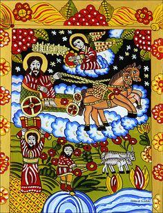 Biblical Art, Orthodox Icons, Religious Art, Ikon, Nativity, Folk, Religion, Christian, Glass