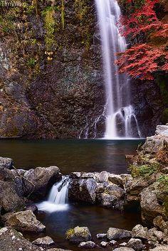 водопад Мино, преф. Осака, Япония / Minoh waterfall, Osaka prefecture, Japan.