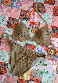 Aisha Crochet fotos de вязаный стиль - 11 álbumes Bikini 2017, Crochet Bikini, Reusable Tote Bags, Shorts, Fashion, Craft Ideas, Exit Slips, Pictures, Moda