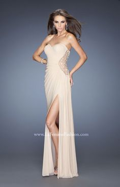 c60666d227d As seen in Seventeen Magazine!!! La Femme 20130 is an elegant and  sophisticated. Genealogy Dresses