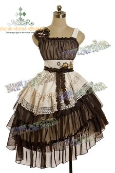 Google Image Result for http://fanchaos.com/fanplusfriend/c5/Steampunk_Bias_Tiered_Frill_Trimmings_Gear_Wheel_OP_Dress_%26_Hair_Dress_DR00125_01.jpg