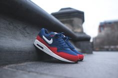 Nike Air Max 1 Essential Midnight Navy - 537383-400