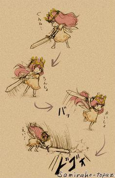 Aurora's move of attack by Samiraho-topaz.deviantart.com on @deviantART