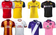 Camisas Champions League - grupo d